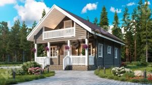 Финские дома из клееного бруса — проекты и цены